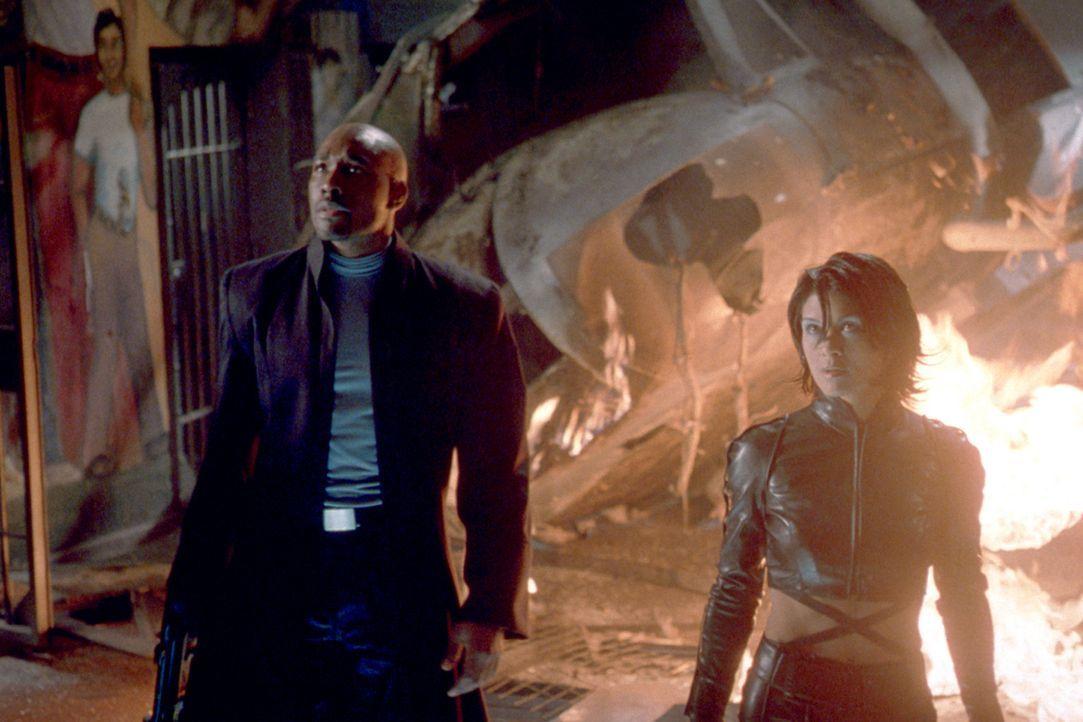 Alcatraz ist wieder geöffnet!. Sicherer, brutaler, unnachgiebiger denn je. An Ausbruch ist nicht zu denken - aber an Einbruch. Der Gefängnis-Chef... - Bildquelle: 2003 Sony Pictures Television International. All Rights Reserved.