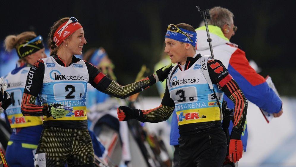 Vanessa Hinz und Erik Lesser bilden erneut ein Duo - Bildquelle: FIROFIROSID