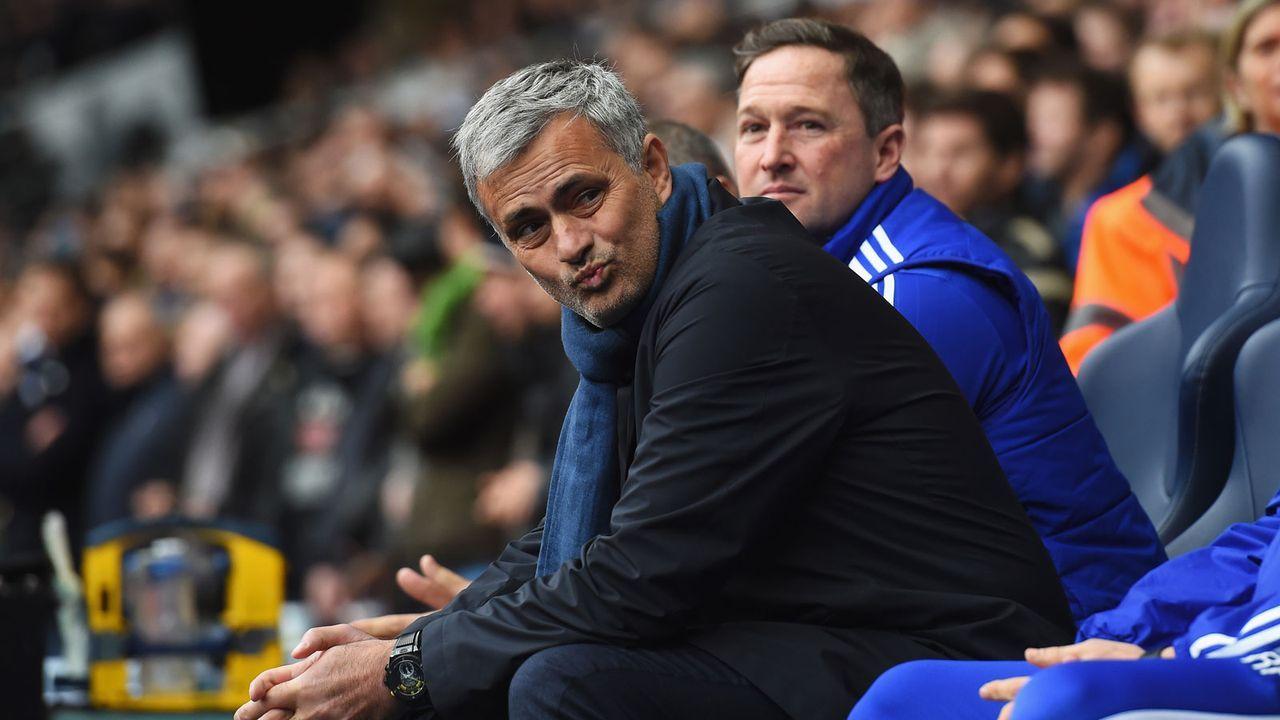 Jose Mourinho (FC Chelsea 2004-07, 2013-15) - Bildquelle: 2015 Getty Images