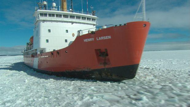 Die Henry Larsen ist ein hoch spezialisierter Eisbrecher der kanadischen Küst...