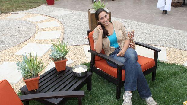 Landschaftsgärtnerin Sara Bendricks (Bild) macht aus dem tristen Garten von A...