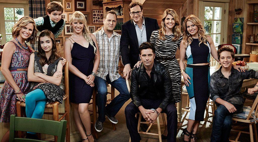 Der Cast von Fuller House - Bildquelle: People Magazine