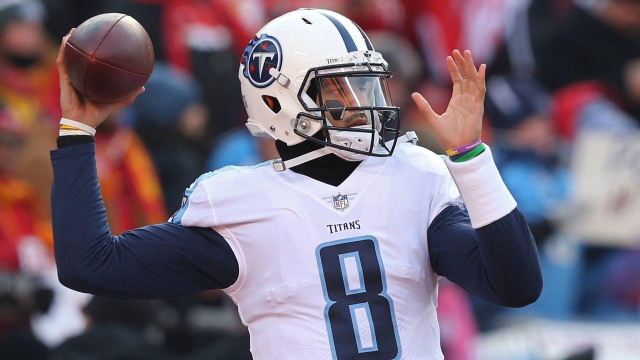 Marcus Mariota (Tennessee Titans) - Bildquelle: imago