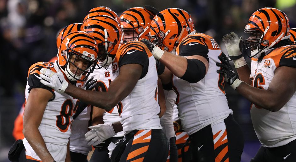 Cincinnati Bengals - Bildquelle: 2017 Getty Images