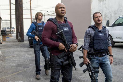 Navy CIS: L.A. - Das Team um Callen (Chris O'Donnell, r.), Sam (LL Cool J, M....