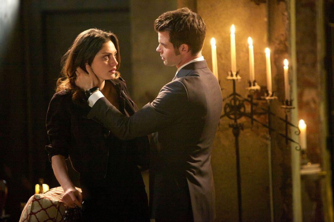 Nach einer verzweifelten Suche ist Elijah (Daniel Gillies, r.) unendlich froh, Hayley (Phoebe Tonkin, l.) wieder in seine Arme schließen zu können,... - Bildquelle: Warner Bros. Television