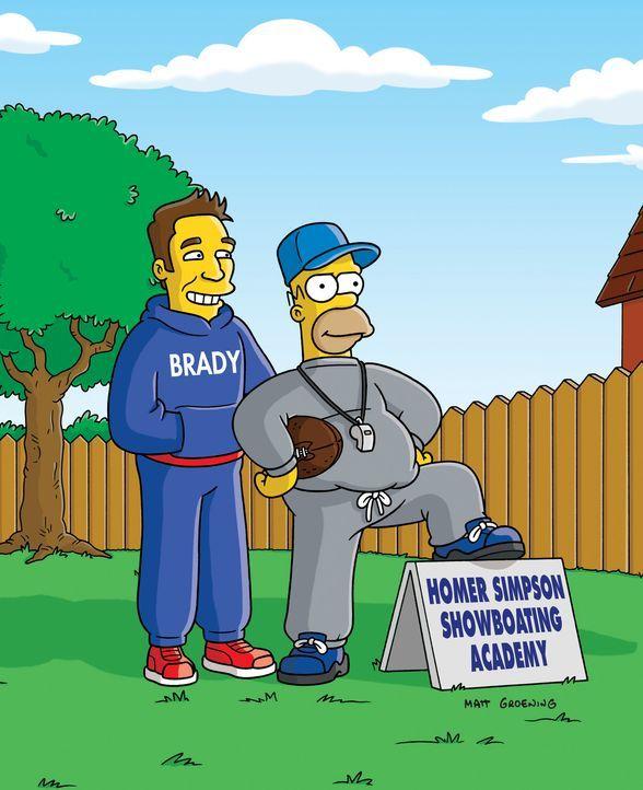 """Mit seiner """"Homer Simpson Showboating Academy"""" geht Homer (r.) in die Geschichte ein ... - Bildquelle: und TM Twentieth Century Fox Film Corporation - Alle Rechte vorbehalten"""
