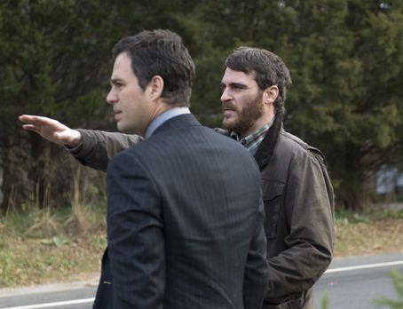 Ein einziger Augenblick - Als Professor Ethan Learner (Joaquin Phoenix, l.) e...