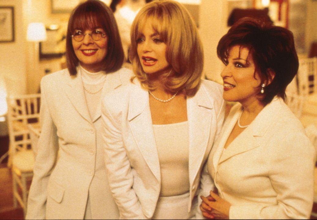 ?Rache ist süß?! Brenda (Bette Midler, r.), Elise (Goldie Hawn, M.) und Annie (Diane Keaton, l.)  beschließen, ihre treulosen Männer gesellschaf... - Bildquelle: Paramount Pictures