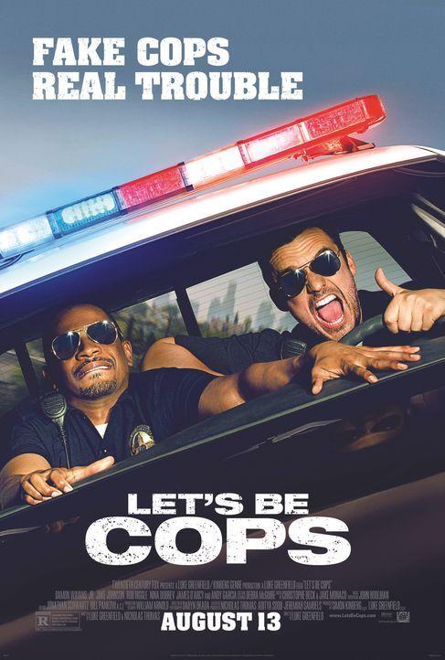 LET'S BE COPS - DIE PARTY BULLEN - Plakat - Bildquelle: 2014 Twentieth Century Fox Film Corporation.  All rights reserved.