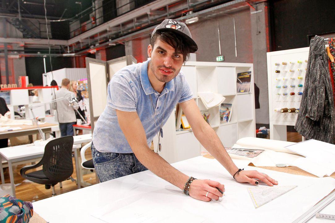 Fashion-Hero-Epi03-Atelier-24-Pro7-Richard-Huebner - Bildquelle: Richard Hübner / Pro 7
