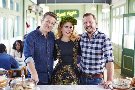 Diese Woche haben Jamie (l.) und Jimmy (r.) die hübsche Schauspielerin Paloma...