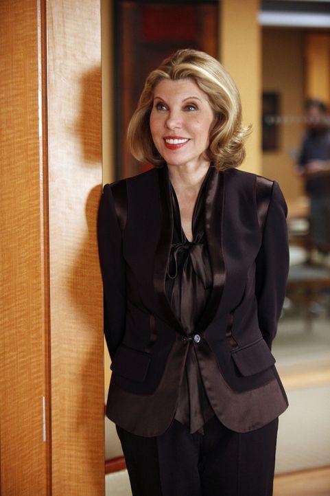 Ein junger Mann, de rim Internet Millionen gemacht hat, verklagt eine Filmfirma. Diane Lockhart (Christine Baranski) übernimmt den Fall. - Bildquelle: CBS   2011 CBS Broadcasting Inc. All Rights Reserved.