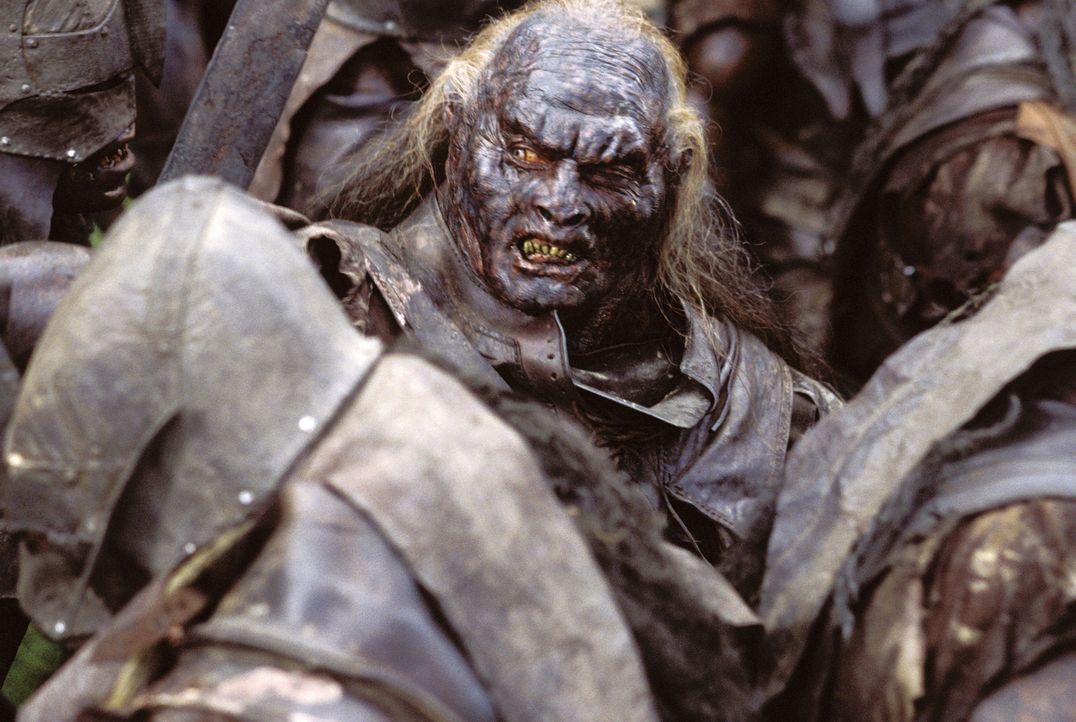 Die Uruk-Hai haben Merry und Pippin verschleppt, doch die Gefährten sind ihnen bereits dicht auf den Fersen, um die Hobbits zu befreien ... - Bildquelle: Warner Brothers