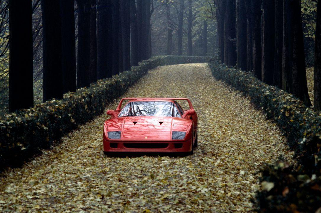 Platz 5: Ferrari F40 - Bildquelle: Ferrari