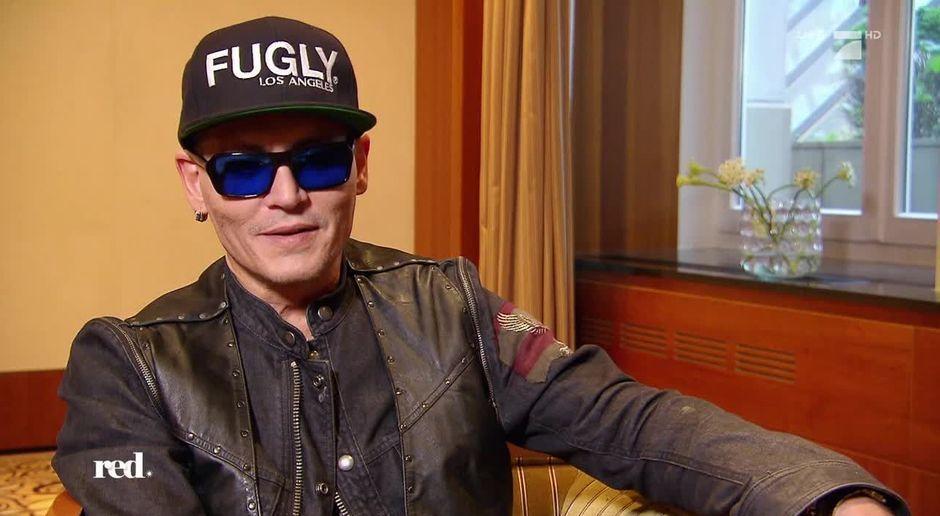 Red Im Tv Video Johnny Depp Das Sagt Der Hollywood Star Zu Den