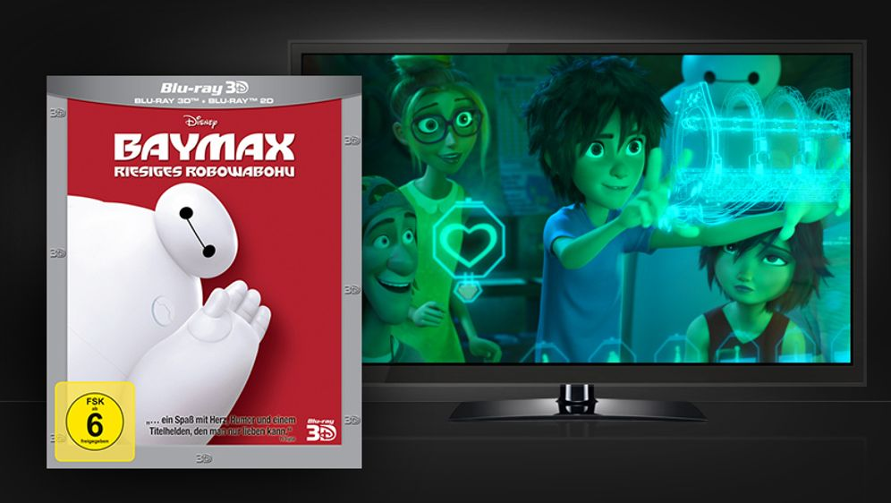 Baymax - Riesiges Robowabohu (Blu-ray 3D) - Bildquelle: Walt Disney Studios Home Entertainment