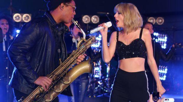 Taylor Swift an Silvester