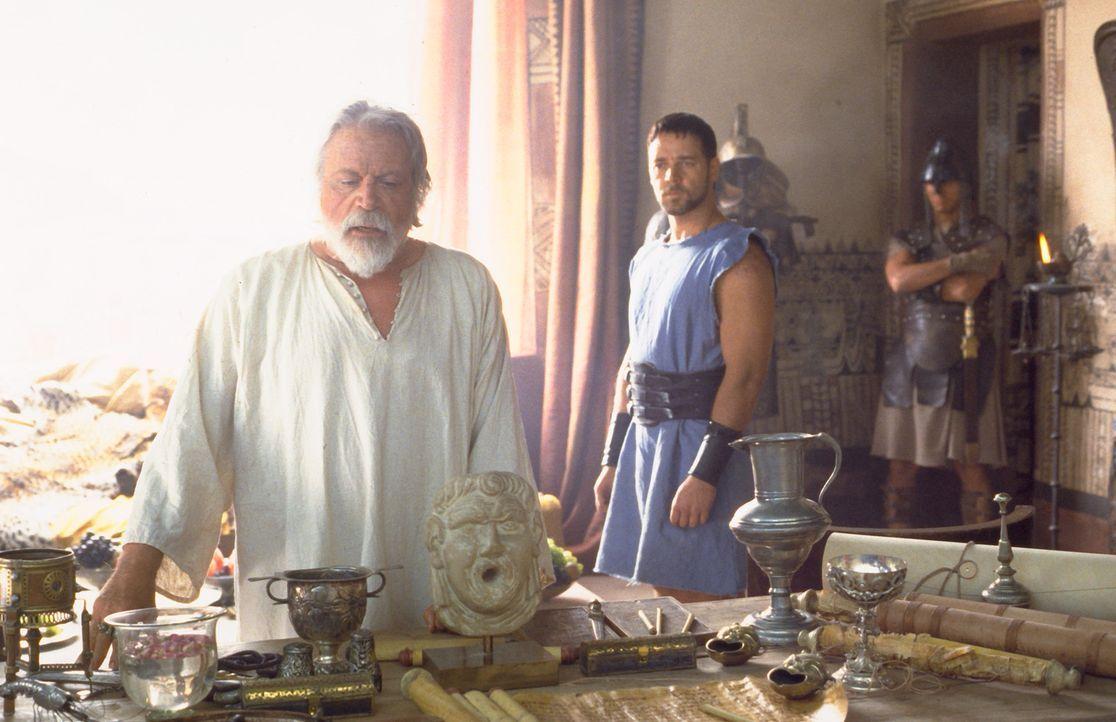 Im antiken Rom schreibt man das Jahr 180 nach Christus. Der siegreiche General Maximus (Russell Crowe, M.)  ist der Liebling des Kaisers Marcus Aure... - Bildquelle: Universal Pictures