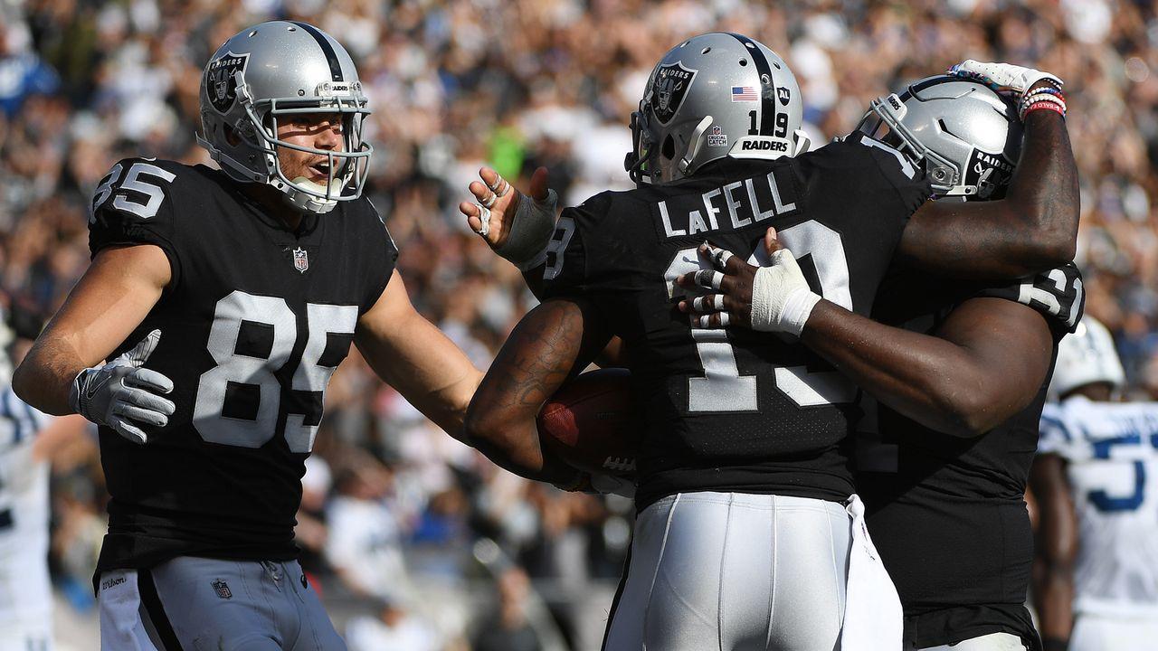 Platz 28: Oakland Raiders - Bildquelle: 2018 Getty Images