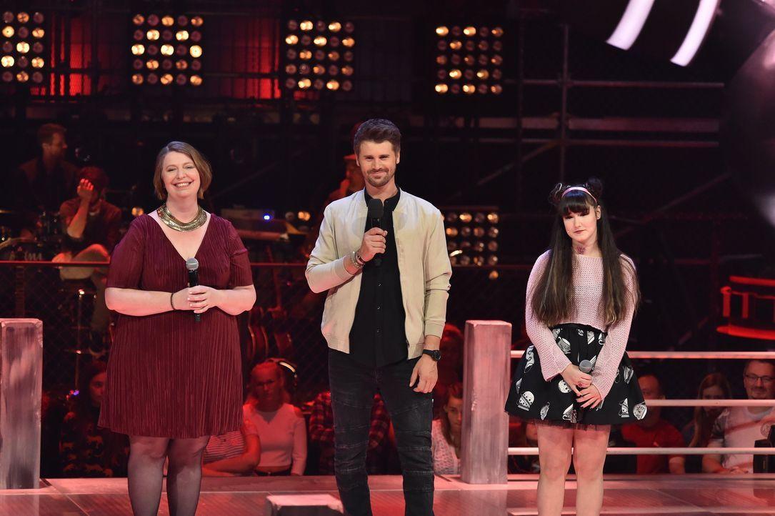 S1P7_Voice_SD11_Vorbericht_ Penni Jo; Thore Schölermann;Jessica - Bildquelle: SAT.1/ProSieben/André Kowalski