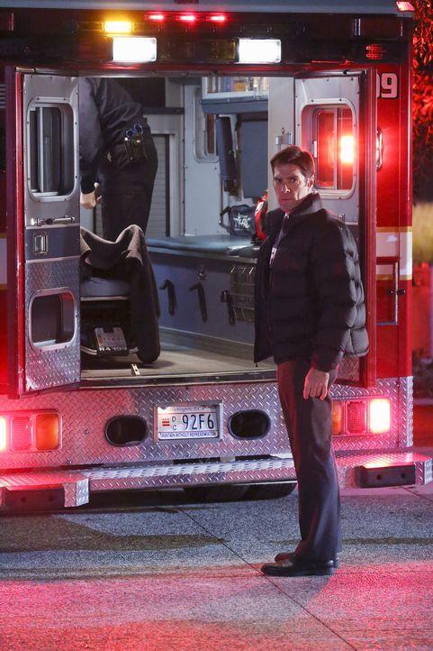 Macht sich große Sorgen um JJ, die von Unbekannten entführt wurde: Hotch (Thomas Gibson) ... - Bildquelle: ABC Studios