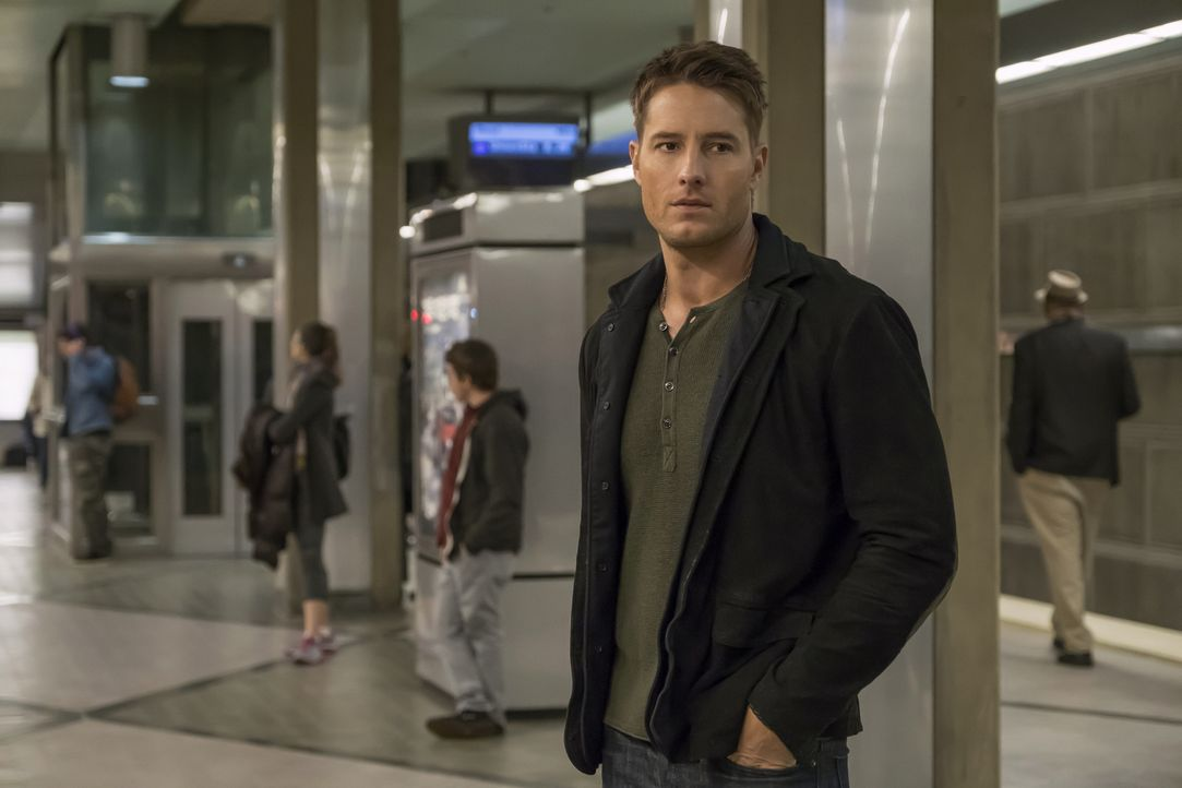 Kämpft um seine Exfrau Sophie. Doch hat Kevin (Justin Hartley) bei ihr noch eine Chance? - Bildquelle: Ron Batzdorff 2016-2017 Twentieth Century Fox Film Corporation.  All rights reserved.   2017 NBCUniversal Media, LLC.  All rights reserved.