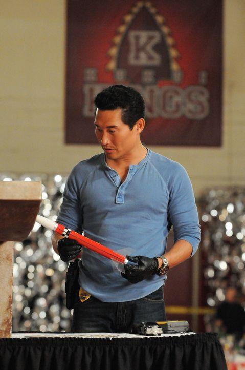 Ermittelt im Mord an einer ehemaligen Mitschülerin: Chin (Daniel Dae Kim) ... - Bildquelle: 2013 CBS Broadcasting Inc. All Rights Reserved