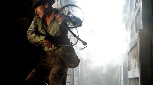 Gerät von einer brenzligen Situation in die nächste: Indiana Jones (Harrison...