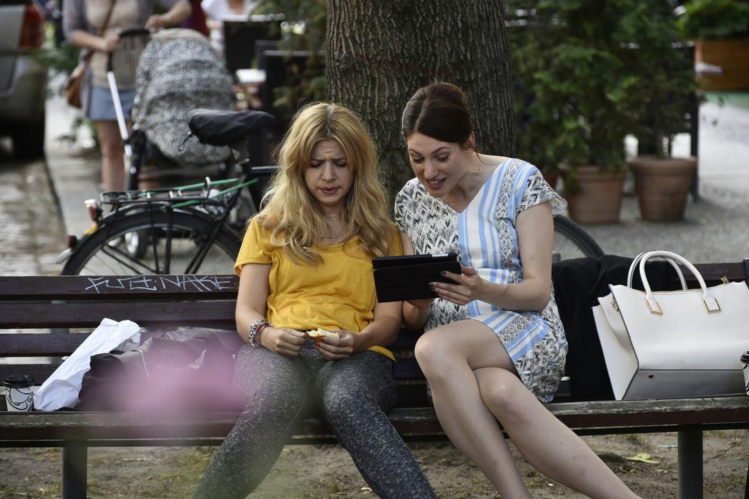 Katja (Bianca Warnek, r.), ihre ehemalig beste Freundin, bringt Mila (Susan Sideropoulos, l.) an den Rand der Verzweiflung ... - Bildquelle: Claudius Pflug SAT.1
