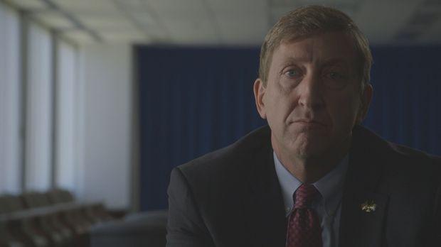 Bei seiner Arbeit darf sich Supervisory Special Agent James E. Gaylord keinen...