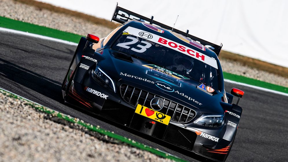 Mercedes schickt ebenfalls ein Auto nach Jerez. - Bildquelle: Hoch Zwei