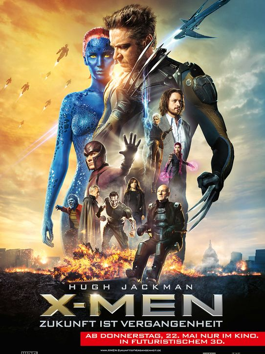 X-Men-38-c-2014-Twentieth-Century-Fox - Bildquelle: c 2014 Twentieth Century Fox