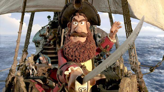 Obwohl der Piratenkapitän nicht wirklich erfolgreich ist, als
