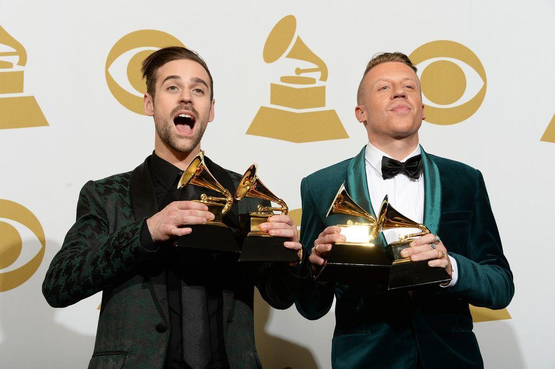 Grammy-Awards-Ryan-Lewis-Macklemore-14-01-26-AFP - Bildquelle: AFP