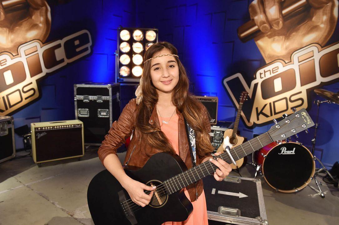 The-Voice-Kids-Stf04-Epi03-Sofia-01-SAT1-Andre-Kowalski - Bildquelle: SAT.1/ André Kowalski