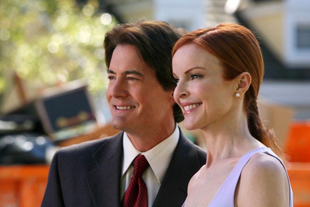 Bree (Marcia Cross, r.) und Orson (Kyle MacLachlan, l.) können es kaum abwarten, wieder in ihr eigenes Haus zurückzukehren ... - Bildquelle: ABC Studios