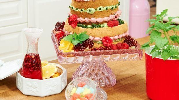"""Naked Cake – Monikas """"Orangengranate"""""""