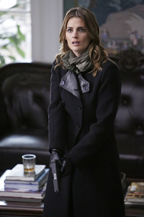 Als Castle und Kate (Stana Katic) bei Coles Haus ankommen, finden sie etwas völlig unerwartetes ... - Bildquelle: ABC Studios