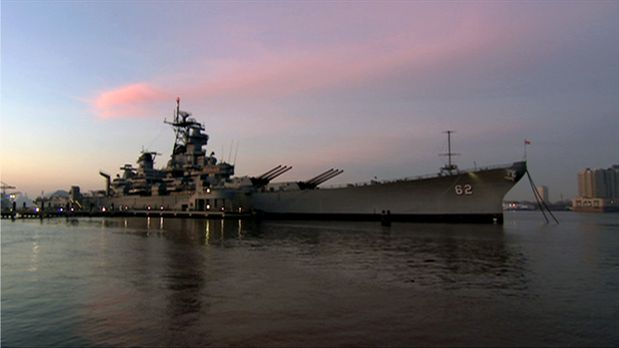 """Die """"USS New Jersey"""" war ein Schlachtschiff der United States Navy...."""