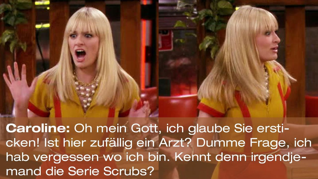 2-broke-girls-zitat-quote-staffel2-episode9-boss-caroline-scrubs-warnerpng 1600 x 900 - Bildquelle: Warner Brothers