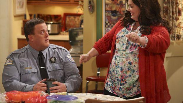 Mike (Billy Gardell, l.) hat drei Tage sturmfrei, da Molly (Melissa McCarthy,...
