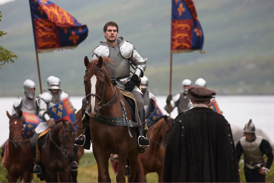 Soll einen schrecklichen Auftrag des Königs ausführen: Charles Brandon (Henry Cavill, M.) ... - Bildquelle: 2009 TM Productions Limited/PA Tudors Inc. An Ireland-Canada Co-Production. All Rights Reserved.
