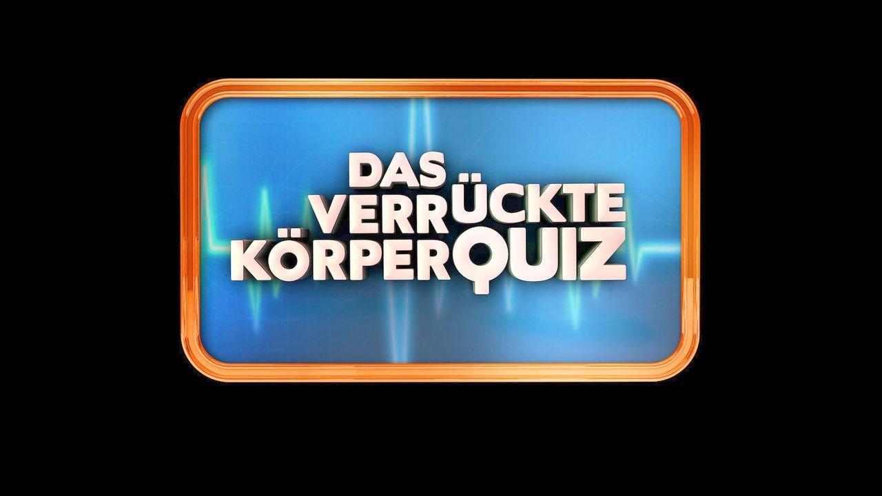 """""""Das verrückte Körperquiz"""" - Logo - Bildquelle: SAT.1"""