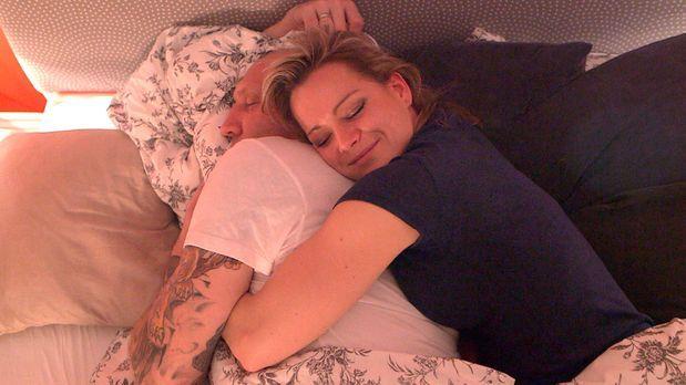 Patchwork Family - Sind glücklich miteinander: Michael (l.) und Christina (r....