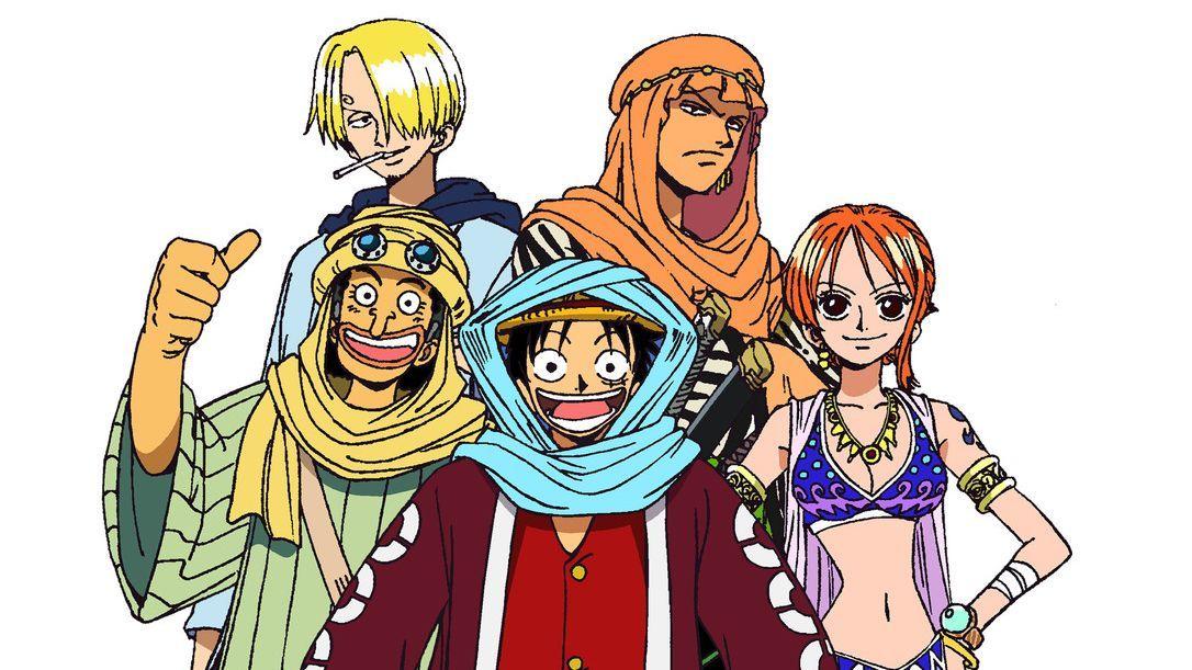 Gemeinsam stellen sie sich den Abenteuern! - Bildquelle: Eiichiro Oda/Shueisha, Toei Animation