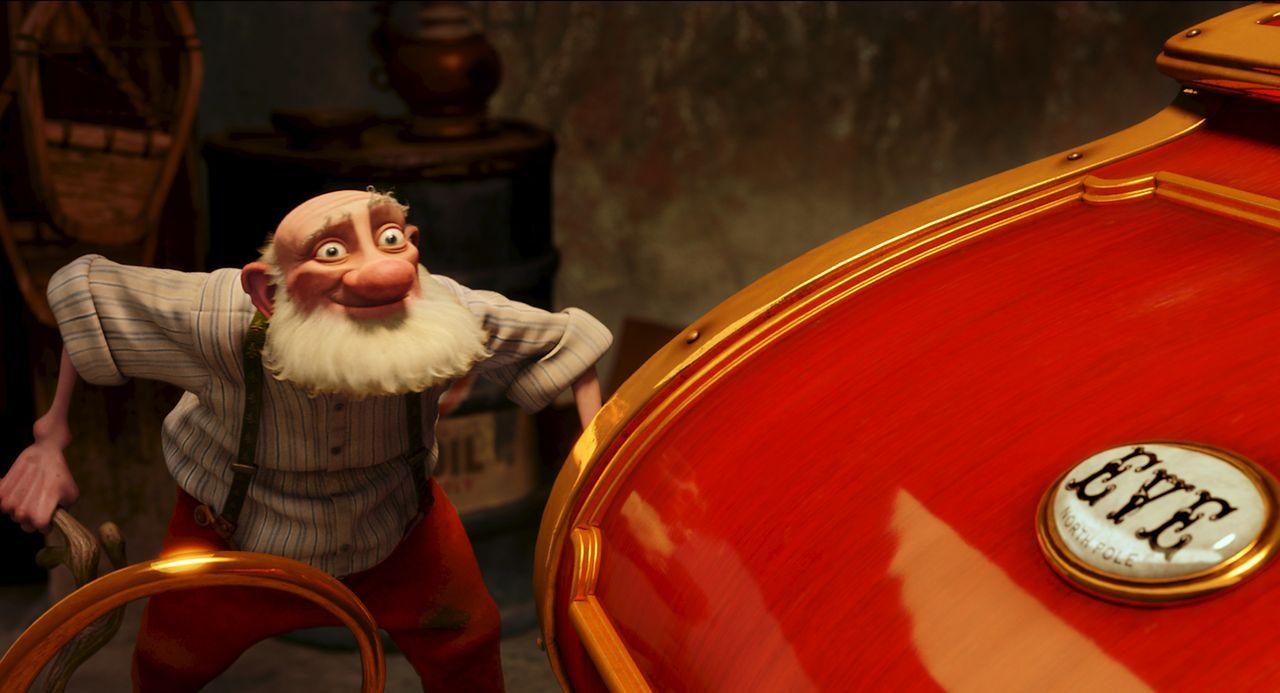 Gemeinsam mit seinem Enkel Arthur gibt Opa Weihnachtsmann alles, um das Weihnachtsfest vor seinem kapitalistischen Enkel Steve zu retten. Eine nicht... - Bildquelle: 2011 Sony Pictures Animation Inc. All Rights Reserved.