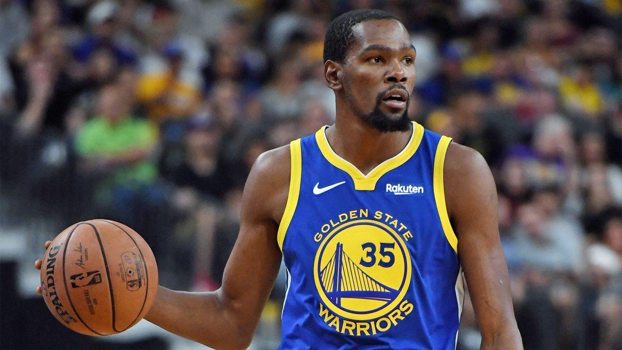 Platz 4: Kevin Durant, Golden State Warriors - Bildquelle: 2018 Getty Images