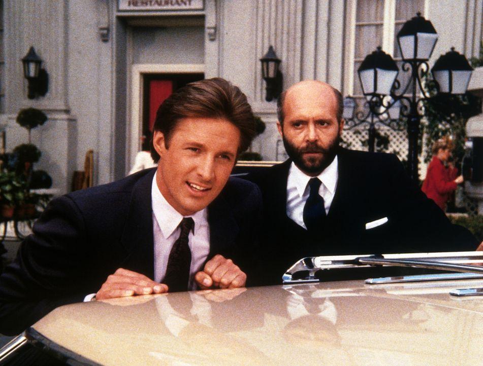 KGB und amerikanischer Geheimdienst arbeiten zusammen, um eine nukleare Katastrophe zu verhindern. Lee (Bruce Boxleitner, l.) und seinem russischen...