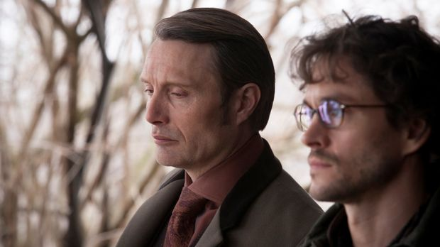 Kann Will Graham (Hugh Dancy, r.) endlich den manipulativen Dr. Hannibal Lect...